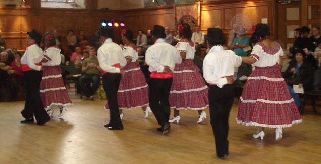 European Quadrille dance